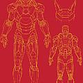Iron Man by Caio Caldas