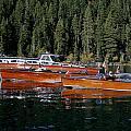 Lake Tahoe Wooden Boats by Steven Lapkin
