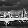 London  Skyline Waterloo  Bridge  by David French