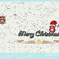 Christmas Card 29 by Nina Ficur Feenan
