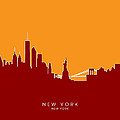 New York Skyline by Michael Tompsett