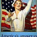 Red Cross Poster, 1917 by Granger