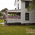 Ryckman House In Melbourne Beach Florida by Allan  Hughes
