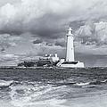St Marys Lighthouse by David Pringle