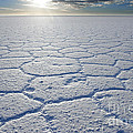 sunrise at Salar de Uyuni worlds largest salt lake Bolivia by Juergen Ritterbach