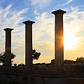 Temple Of Apollo Hylates by Augusta Stylianou