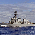 The Guided-missile Destroyer Uss by Stocktrek Images