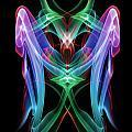 9109 Piercing The Veil Spiritual Art  by Chris Maher
