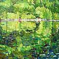 911-sherborne Lake by Phil Chadwick