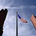 911 Tribute At Winslow Arizona by Gary Emilio Cavalieri