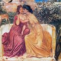 Sappho And Erinna In A Garden by Simeon Solomon