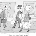 I Shop To Forget What I Bought Last Year by Peter C. Vey