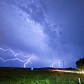 95th And Woodland Lightning Thunderstorm View by James BO  Insogna