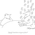 Really? You'd Like To Be Part Of This? by Charles Barsotti