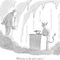 Welcome To The After-party by Jack Ziegler