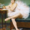 A Ballerina by Pg Reproductions
