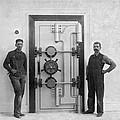 A Bank Vault Door by Underwood Archives