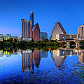 A Beautiful Austin Evening by Dave Files