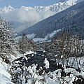 A Beautiful Winterday - Austrian Alps by Christiane Schulze Art And Photography