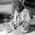 A Bedouin Negro Minstrel by Underwood Archives