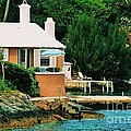 A Cottage In Bermuda # 1 by Marcus Dagan