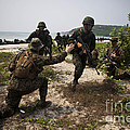 A Bilateral Boat Raid With U.s. Marines by Stocktrek Images