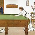 A Billiards Match by Lance Thackeray