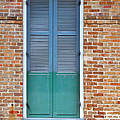 A Blue Door In New Orleans by Christine Till