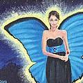 A Blue Fairy by Glenn Harden
