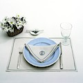 A Blue Table Setting by Haanel Cassidy