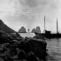 A Boat Docked At Capri by Clifford Coffin