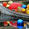 A Boat Full Of Color by Gary Richards