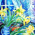 A Bouquet Of April Daffodils  by Trudi Doyle