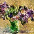 A Bouquet Of Lilac by Dragica  Micki Fortuna