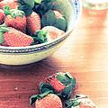 A Bowl Of Strawberries by Elizabeth Thomas