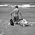 A Boy And His Dog Go Surfing by Kristina Deane