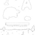 A Boy Looks Up At The Sky And Sees A Captcha by Liana Finck