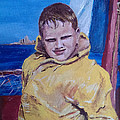 A Boy On A Boat by Jack Skinner