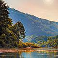 A Buffalo River Morning  by Bill Tiepelman