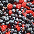A Bunch Of Berries by Dennis Godin