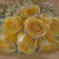 A Bunch Of Yellow Roses by Susan Candelario