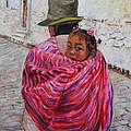 A Bundle Buggy Swaddle - Peru Impression IIi by Xueling Zou