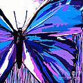 A Butterfly So Blue by Saundra Myles