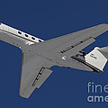 A C-20 Gulfstream Jet In Flight by Timm Ziegenthaler