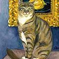 A Cat And Eduard Manet's The Lemon by Jingfen Hwu