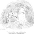 A Cavewoman Talks To A Caveman Who Is Leaving by Michael Maslin