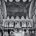 A Central View Bw by Susan Candelario