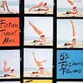 A Charm Cover Of A Model Posing On A Beach by Maurice Pascal