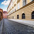A Charming Street In Prague by Michal Bednarek
