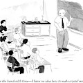 A Chemistry Teacher Addresses His Students by Emily Flake